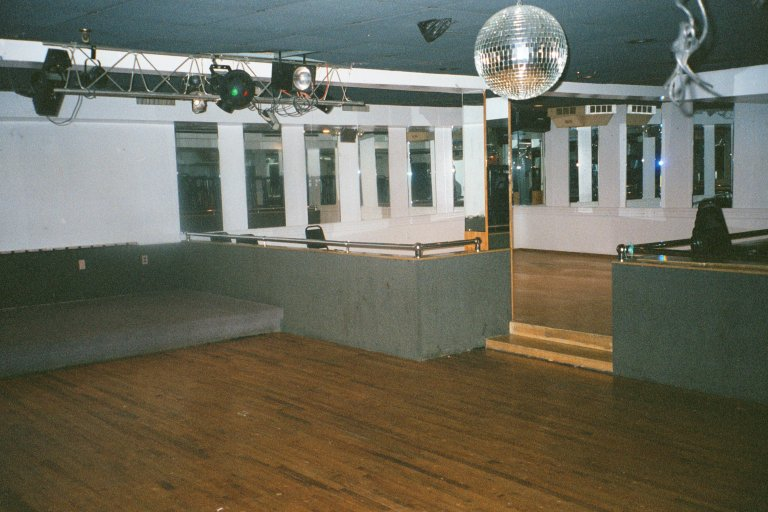 upstairs dance floor